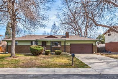 Arvada Single Family Home Under Contract: 6954 Queen Circle