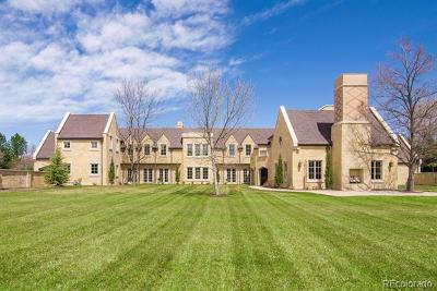 Cherry Hills Village CO Single Family Home Active: $5,250,000