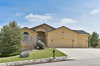 El Paso County Single Family Home Active: 4655 Broadmoor Bluffs Drive