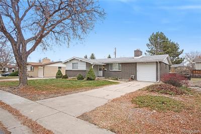 Aurora Single Family Home Active: 12507 East Alaska Avenue