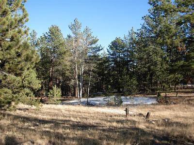Hartsel CO Residential Lots & Land Active: $17,800