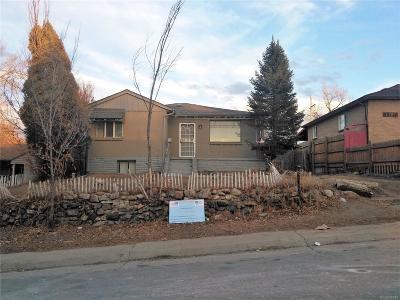 Denver Single Family Home Active: 640 Vrain Street
