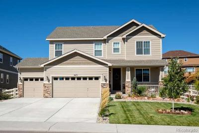 Castle Rock Single Family Home Active: 5875 Golden Field Lane