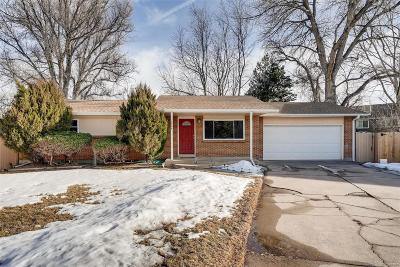 Arvada Single Family Home Under Contract: 6844 Queen Street