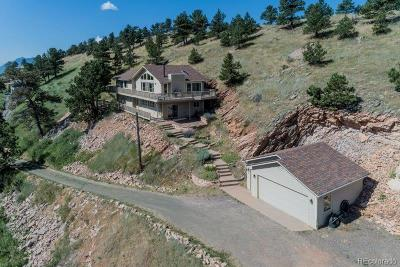 Boulder Single Family Home Active: 6513 Red Hill Road