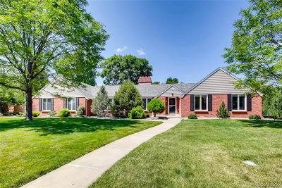 Littleton Single Family Home Under Contract: 3 Glenview Drive