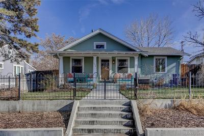 Denver Single Family Home Active: 2074 South Emerson Street