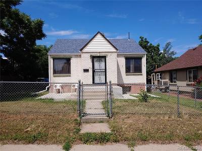 Denver Single Family Home Active: 215 South Knox Court