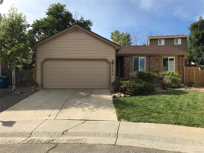 Arvada Single Family Home Under Contract: 8594 West 79th Place