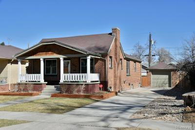 Denver Single Family Home Active: 2670 Glencoe Street