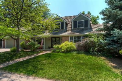 Centennial Single Family Home Active: 7036 East Geddes Place