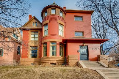 Denver Single Family Home Active: 1400 North Gilpin Street