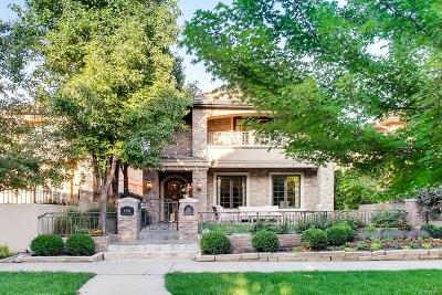 Cherry Creek Single Family Home Sold: 456 Madison Street