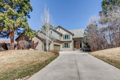 Castle Rock Single Family Home Active: 873 Wolverine Court