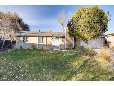 Broomfield Single Family Home Under Contract: 13145 Hazel Court