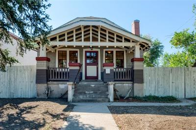 Denver Single Family Home Under Contract: 1490 West Maple Avenue