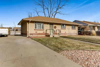 Commerce City Single Family Home Active: 6061 East 67th Avenue