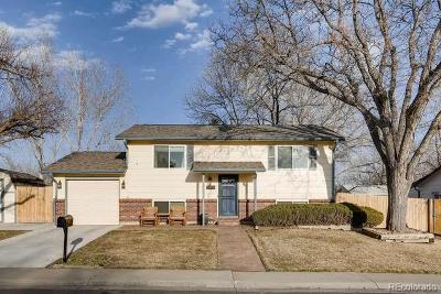 Arvada Single Family Home Under Contract: 7924 Gray Street