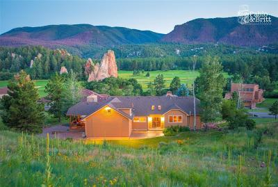 Larkspur CO Single Family Home Active: $649,000