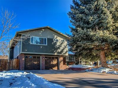 Castle Rock Single Family Home Under Contract: 144 Gordon Lane