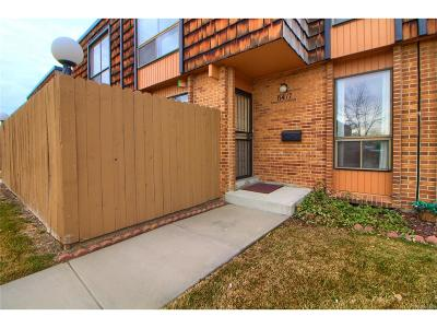 Arvada Condo/Townhouse Under Contract: 6417 Welch Street
