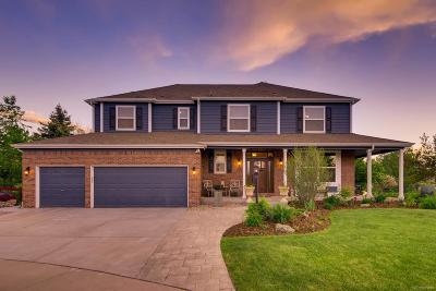 Castle Pines Single Family Home Under Contract: 8785 Thorn Apple Court
