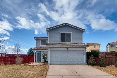 Green Valley Ranch Single Family Home Under Contract: 21498 East 38th Place