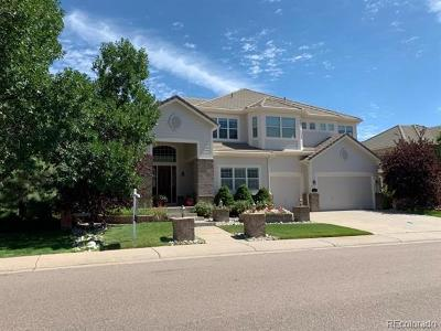 Lone Tree Single Family Home Active: 7925 Trotter Lane