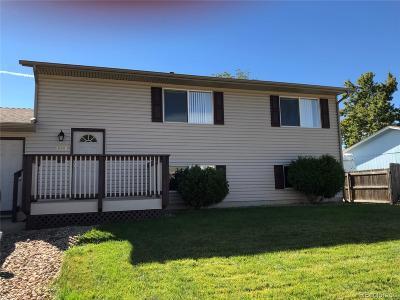 Thornton Single Family Home Active: 2160 Cleo Street