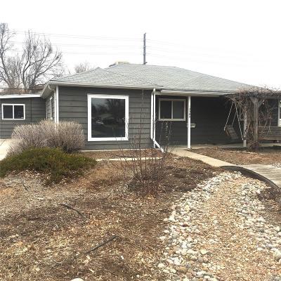 Aurora Single Family Home Active: 13385 East 13th Avenue