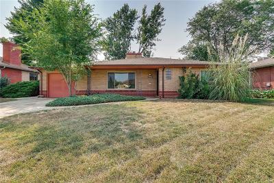 Wheat Ridge Single Family Home Active: 3955 Lamar Street
