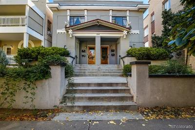 Cap Hill/Uptown, Capital Hill, Capitol Hill Condo/Townhouse Active: 1214 Pearl Street #5