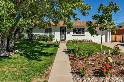 Denver Single Family Home Active: 5535 Vale Drive