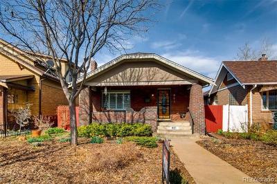 Denver CO Single Family Home Active: $985,000
