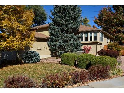 Denver Single Family Home Active: 3060 South Roslyn Street