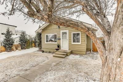 Wheat Ridge Single Family Home Under Contract: 2929 Chase Street