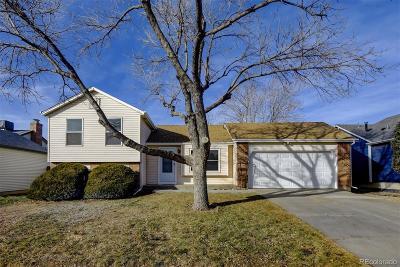 Aurora, Denver Single Family Home Under Contract: 1587 South Ensenada Street