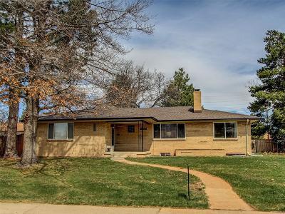 Denver Single Family Home Active: 5095 East Iliff Avenue