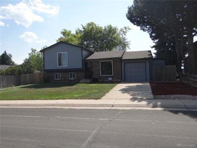 Thornton Single Family Home Active: 9863 Detroit Street