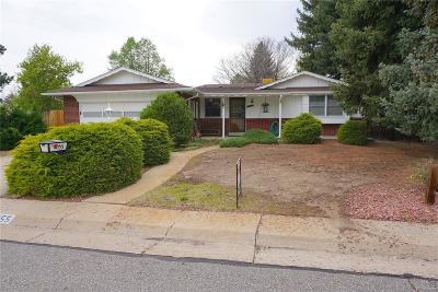 Arvada Single Family Home Active: 6055 Xenophon Street