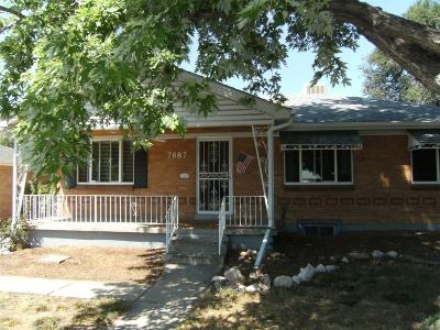 Westminster Single Family Home Under Contract: 7687 Knox Court
