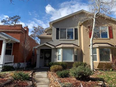 Denver Condo/Townhouse Active: 467 North Downing Street