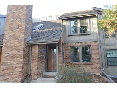 Centennial Condo/Townhouse Under Contract: 8170 East Phillips Circle