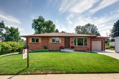 Littleton Single Family Home Active: 4146 West Grand Avenue