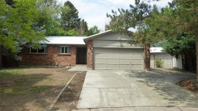 Arvada Single Family Home Active: 13795 West 71st Place