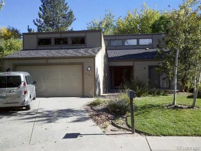 Aurora Single Family Home Active: 4323 South Atchison Circle