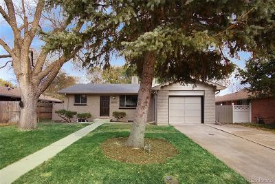 Arvada Single Family Home Active: 6072 Field Street
