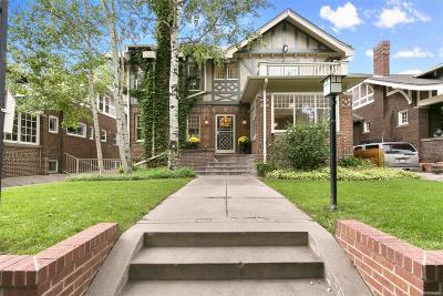 Denver Single Family Home Active: 735 Fillmore Street