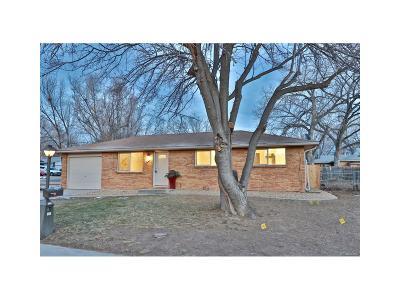 Longmont Single Family Home Under Contract: 470 Dickson Street