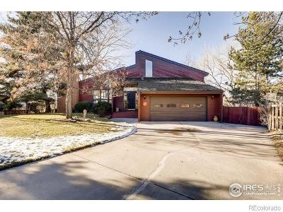 Boulder Single Family Home Active: 4581 Robinson Place